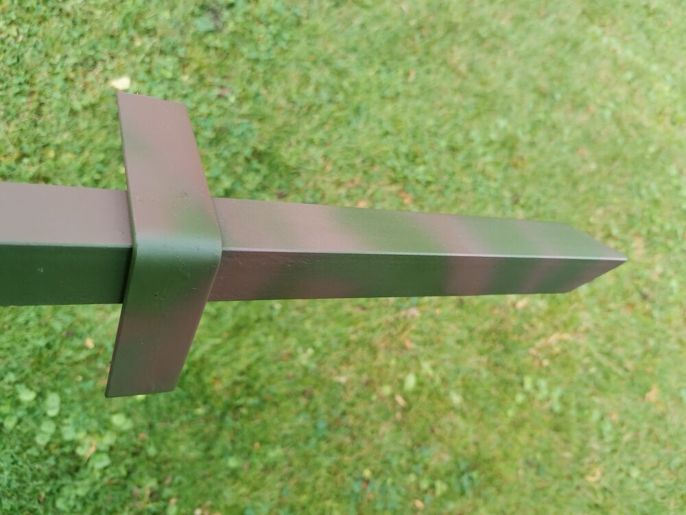 Stativ,  Erdspieß für Wildkamera mit 360° Stativ-kugelkopf  111cm Lang